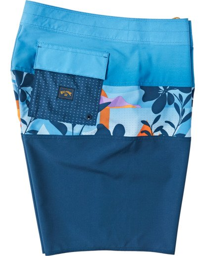 3 Boys' Tribong Pro Boardshorts Yellow B1201BTB Billabong