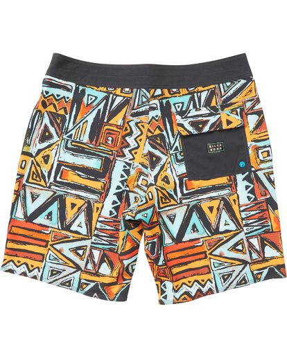 1 Boys' Sundays X Boardshorts Yellow B120NBSU Billabong