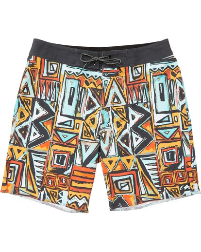 0 Boys' Sundays X Boardshorts Red B120NBSU Billabong