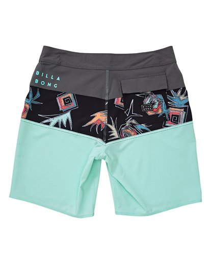 1 Boys' Tribong Pro Boardshorts Green B120TBTB Billabong