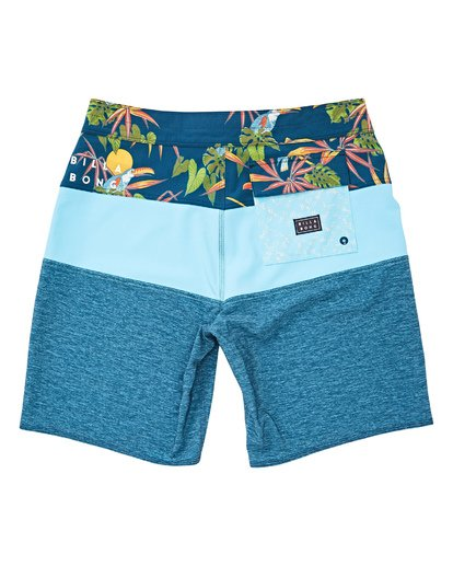 1 Boys' Tribong Pro Boardshorts Blue B120TBTB Billabong