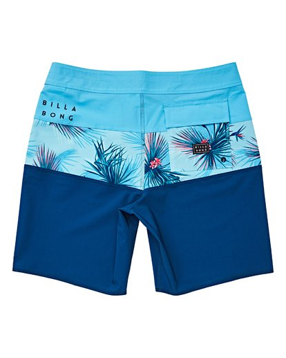 1 Boys' Tribong Pro Boardshorts Brown B120VBTB Billabong