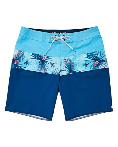0 Boys' Tribong Pro Boardshorts Blue B120VBTB Billabong