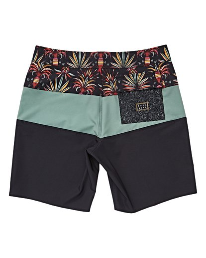 1 Boys' Tribong Pro Boardshorts Blue B120VBTB Billabong