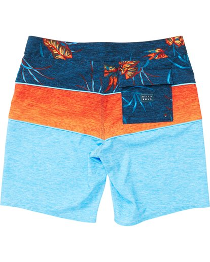 1 Boys' Tribong X Boardshorts Blue B121NBTB Billabong