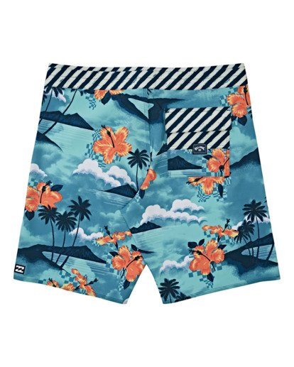 1 Boys' Sundays Pro Boardshorts Multicolor B1231BSU Billabong