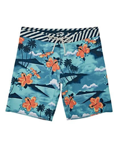 0 Boys' Sundays Pro Boardshorts Multicolor B1231BSU Billabong