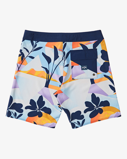 "1 Boys' Sundays Pro Boardshorts 17"" Blue B1231BSU Billabong"