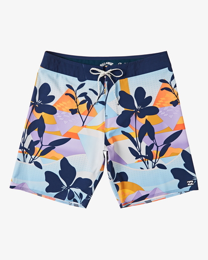 "0 Boys' Sundays Pro Boardshorts 17"" Blue B1231BSU Billabong"