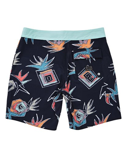 1 Boys' Sundays Pro Boardshorts Multicolor B123TBSU Billabong