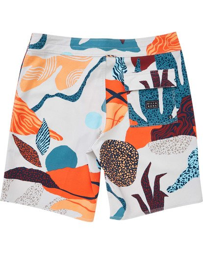 1 Boys' Sundays Pro Boardshorts Grey B123TBSU Billabong