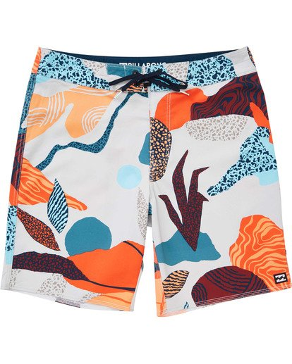 0 Boys' Sundays Pro Boardshorts Grey B123TBSU Billabong