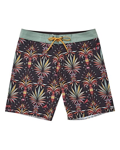 0 Boys' Sundays Pro Boardshorts Black B123VBSU Billabong