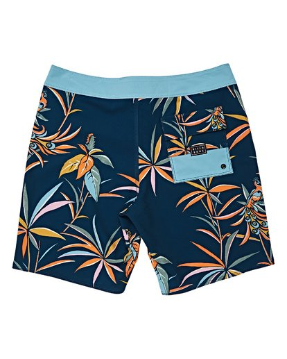 1 Boys' Sundays Pro Boardshorts Blue B123VBSU Billabong