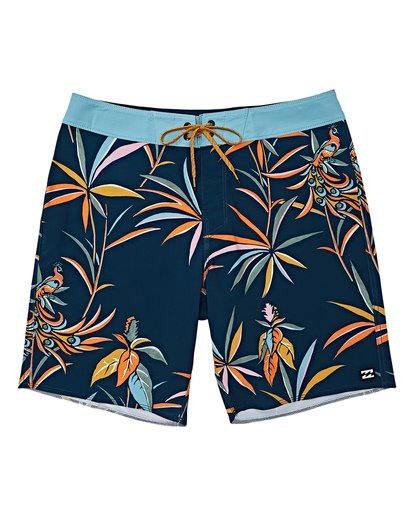 0 Boys' Sundays Pro Boardshorts Blue B123VBSU Billabong