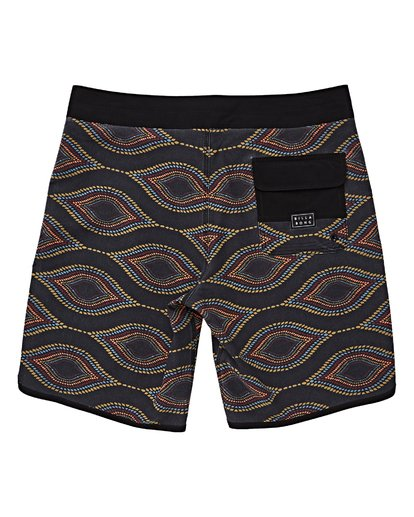 1 Boys' 73 Line Up Pro Boardshorts Blue B126VBSL Billabong