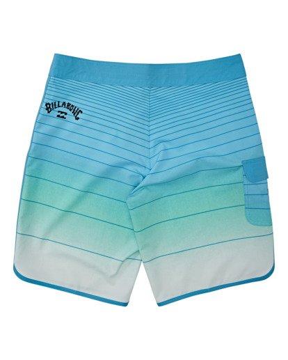 1 Boys' 73 Stripe Pro Boardshorts Blue B1271BST Billabong