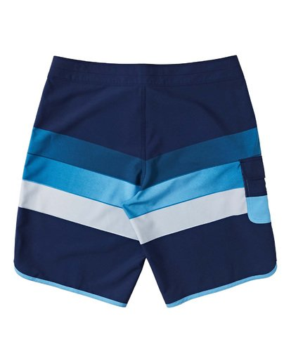 3 Boys' 73 Stripe Pro Boardshorts Blue B1271BST Billabong