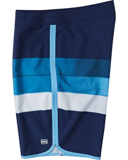 1 Boys' 73 Stripe Pro Boardshorts Blue B1271BST Billabong
