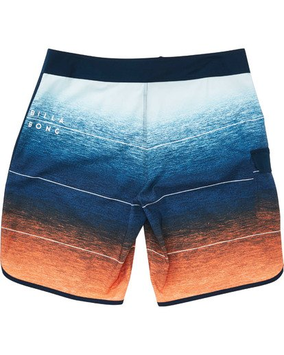 1 Boys' 73 Stripe Pro Boardshorts Orange B127TBST Billabong