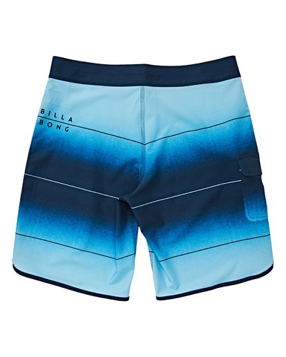 1 Boys' 73 Stripe Pro Boardshorts Brown B127VBST Billabong