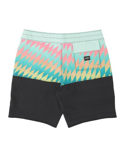 1 Boys' Fifty50 Pro Boardshorts Blue B1291BFP Billabong