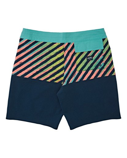 1 Boys' Fifty50 Pro Boardshorts Multicolor B1291BFP Billabong