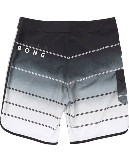 1 Boys' 73 X Stripe Boardshorts Grey B129NBSS Billabong