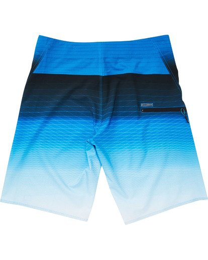 1 Boys' Fluid Pro Boardshorts Blue B131TBFL Billabong