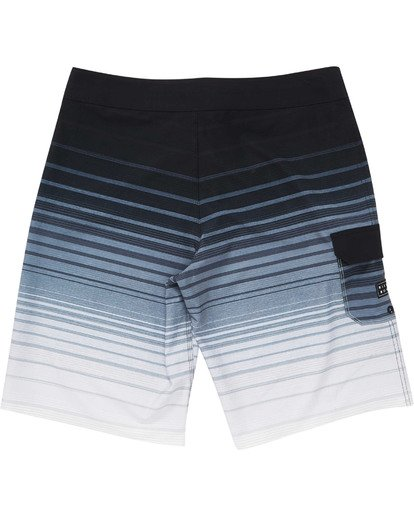 1 Boys' All Day Stripe Pro Boardshorts Black B133TBAS Billabong