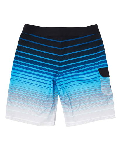 1 Boys' All Day Stripe Pro Boardshorts Blue B133TBAS Billabong