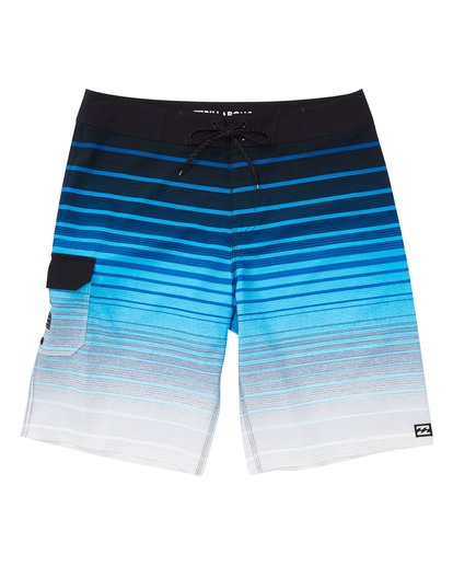 0 Boys' All Day Stripe Pro Boardshorts Blue B133VBAS Billabong