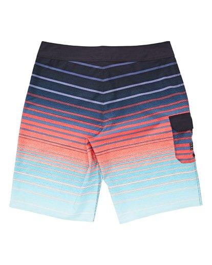 1 Boys' All Day Stripe Pro Boardshorts Green B133VBAS Billabong