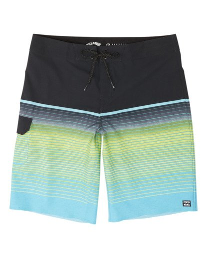 0 Boys' All Day Stripe Pro Boardshorts Blue B1341BSP Billabong