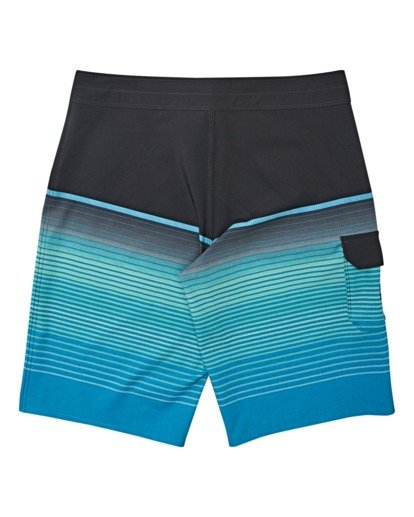 1 Boys' All Day Stripe Pro Boardshorts Blue B1341BSP Billabong