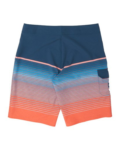 1 Boys' All Day Stripe Pro Boardshorts Multicolor B1341BSP Billabong