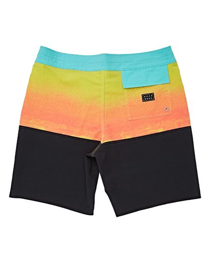 1 Boys' Fifty50 Fade Pro Boardshorts Purple B136VBFF Billabong