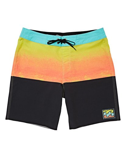 0 Boys' Fifty50 Fade Pro Boardshorts Purple B136VBFF Billabong