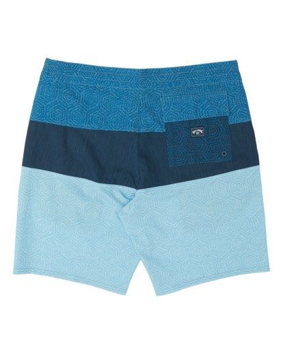 1 Boys' Tribong Lo Tides Boardshorts Blue B1371BTL Billabong