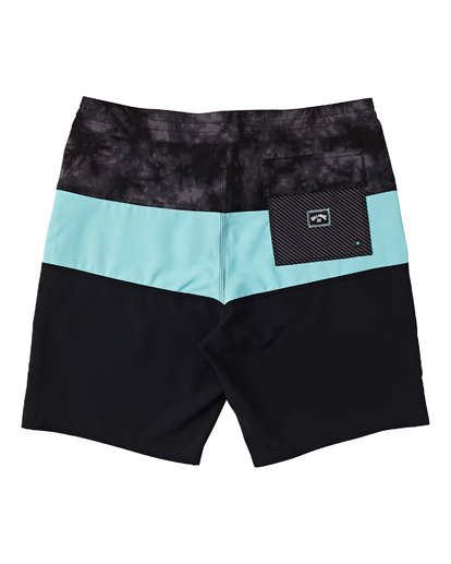 "1 Boys' Tribong Lo Tides Boardshorts 17"" Green B1371BTL Billabong"