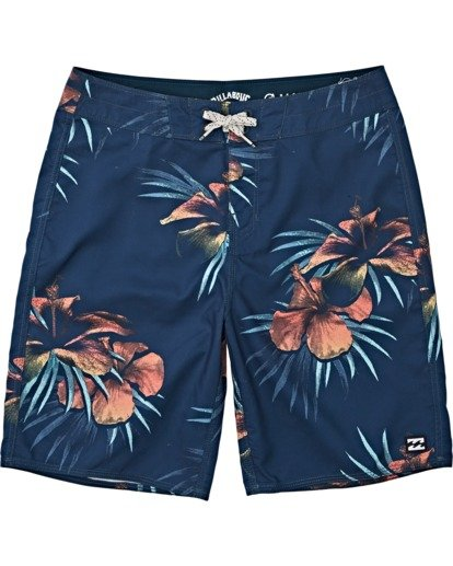 0 Boys' Sundays Originals Boardshorts Blue B1381BSO Billabong