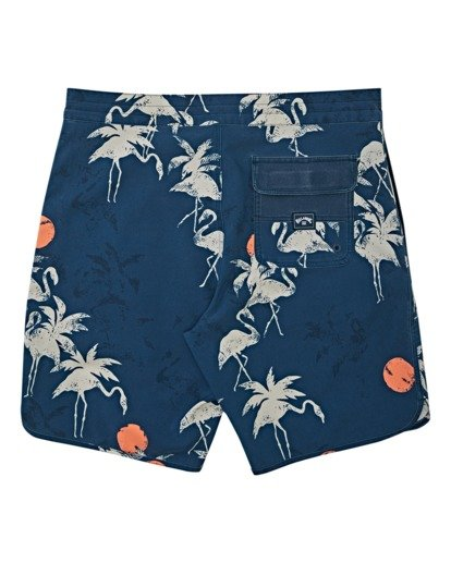 1 Boys' 73 Lo Tides  Boardshorts Blue B1392BSL Billabong
