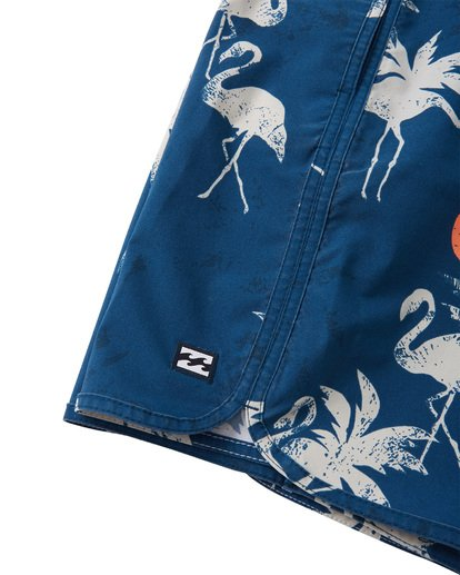 5 Boys' 73 Lo Tides  Boardshorts Blue B1392BSL Billabong