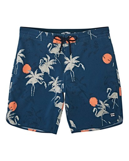 0 Boys' 73 Lo Tides  Boardshorts Blue B1392BSL Billabong