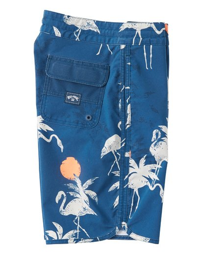 3 Boys' 73 Lo Tides  Boardshorts Blue B1392BSL Billabong