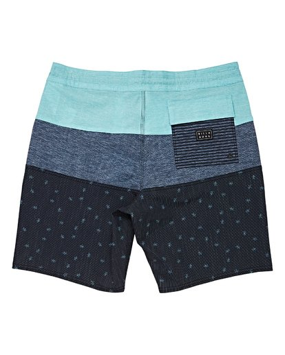 1 Boys' Tribong Lo Tides Boardshorts Black B140TBTB Billabong