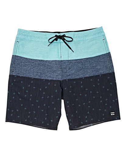 0 Boys' Tribong Lo Tides Boardshorts Black B140TBTB Billabong