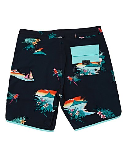 1 Boys' 73 Lineup LT Boardshorts Black B143TBSL Billabong