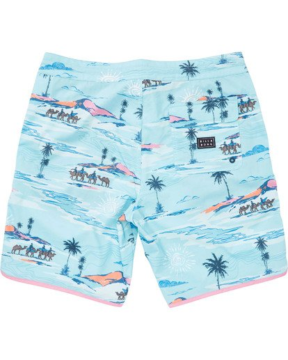 1 Boys' 73 Lineup LT Boardshorts Blue B143TBSL Billabong