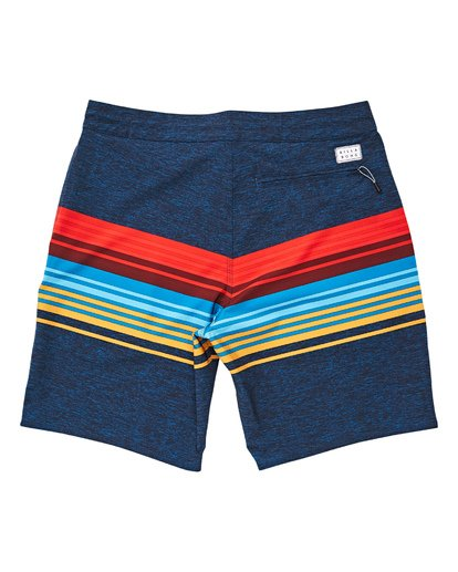 1 Boys' Spinner LT Boardshorts Blue B144TBSP Billabong